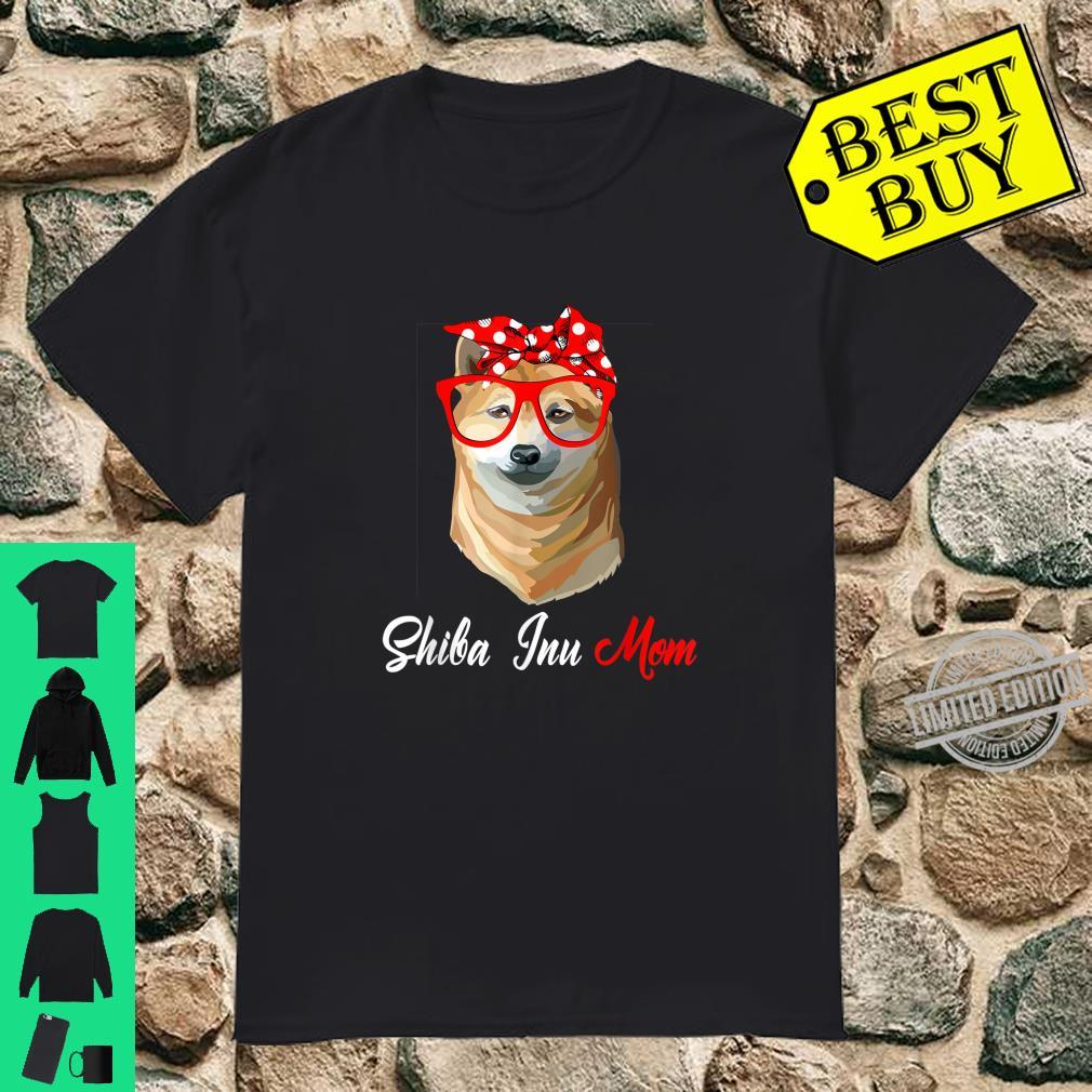 Shiba Inu Mom Mother Shirt